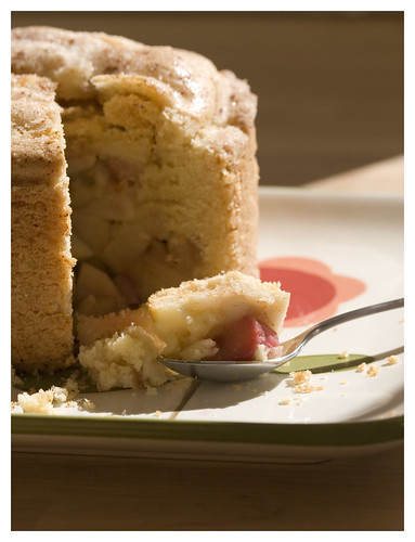 apple rhubarb shortcake