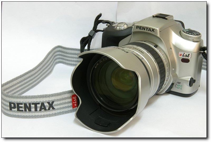 [貼圖]Pentax *ist (銀色機身+銀色鏡頭)
