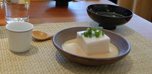 1st Course - Zen Temple Kaiseki