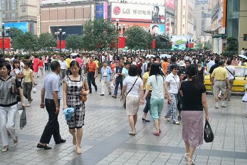 chongqing crowds