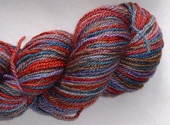 Merino/Silk closeup