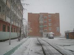 Snow on Spring