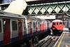 London subway trains