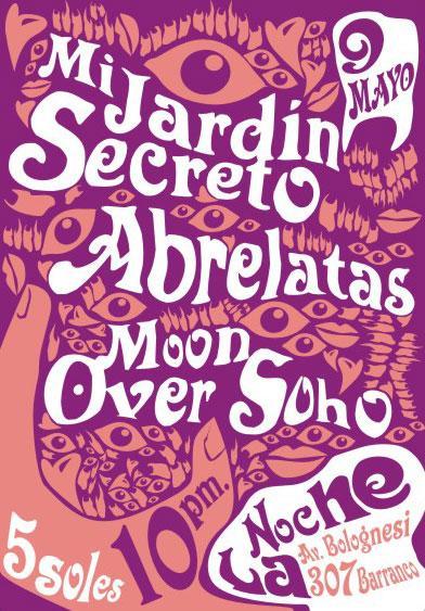 Mi Jardín Secreto + Abrelatas + Moon Over Soho