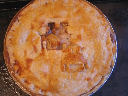 invader pie