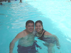 in the pool with nelo