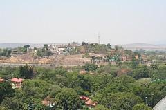 Hills near the hotel