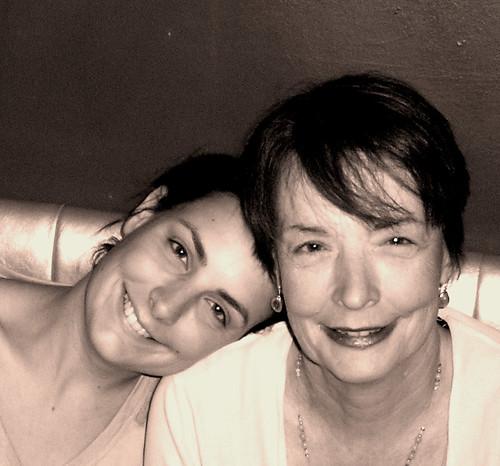 mum & em sepia