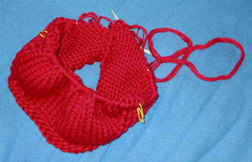 One Skein Wonder: In Progress