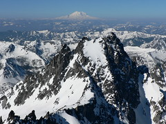 From the top of Colchuck Peak