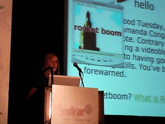 Amanda Congdon of RocketBoom @ Syndicate NYC