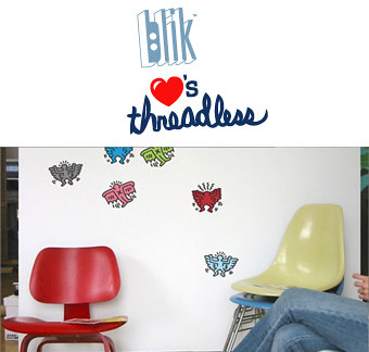 Design Competition: Blik Loves Threadless