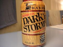 Bermuda dark and stormy
