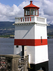 Brockton Point lighthouse