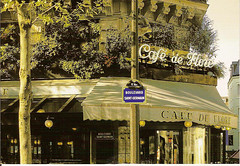 CAFE DE FLORE BOULEVARD SAINT-GERMAIN