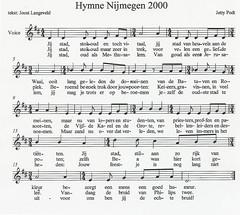 Hymne Nijmegen-2000