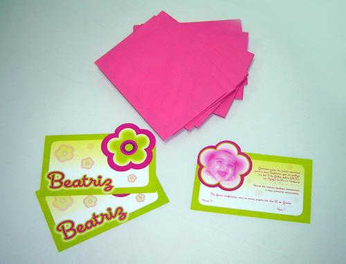 Convite Beatriz