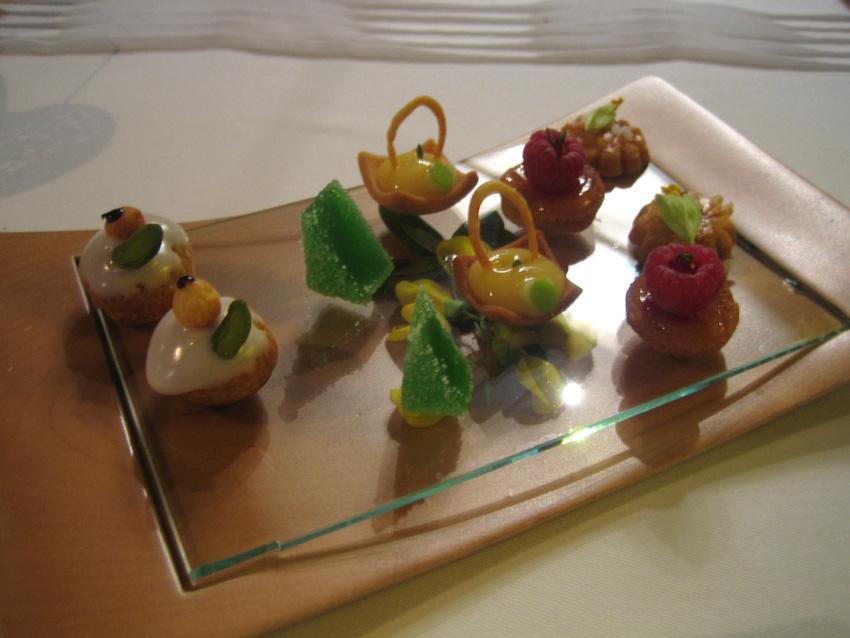 Regis Marcon desserts