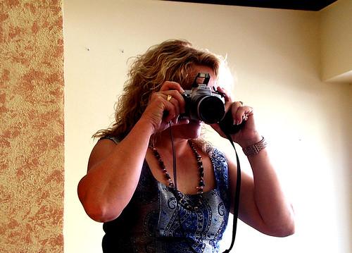 Cuñada fotografa