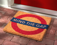 Mind the Gap doormat