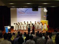 Official launch of READ! Singapore 2006