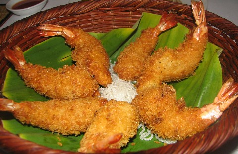 fried prawn with coconut - Lemongrass rest