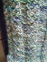 Detail of koigu sock