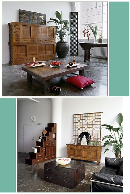 Green Tea Design: Asian Furnishings