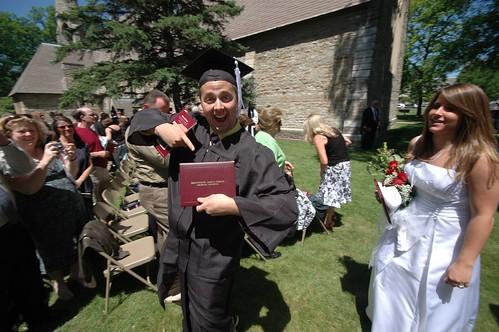 He Graduated!