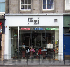 Izzi in Edinburgh