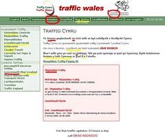 Traffig Cymru