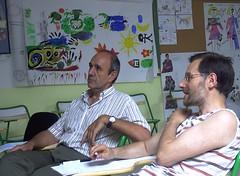 Manu & Angel dialogando