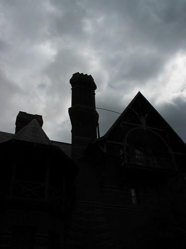 Twain house chimney