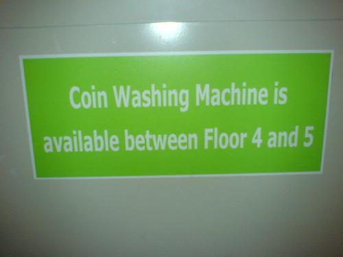 Coin Washing Machine