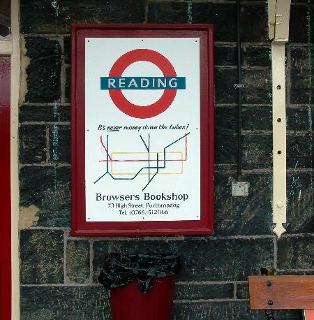 Underground Logo in Porthmadog