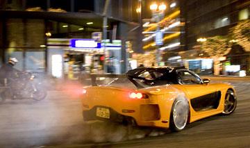 Mazda-RX7 drifting