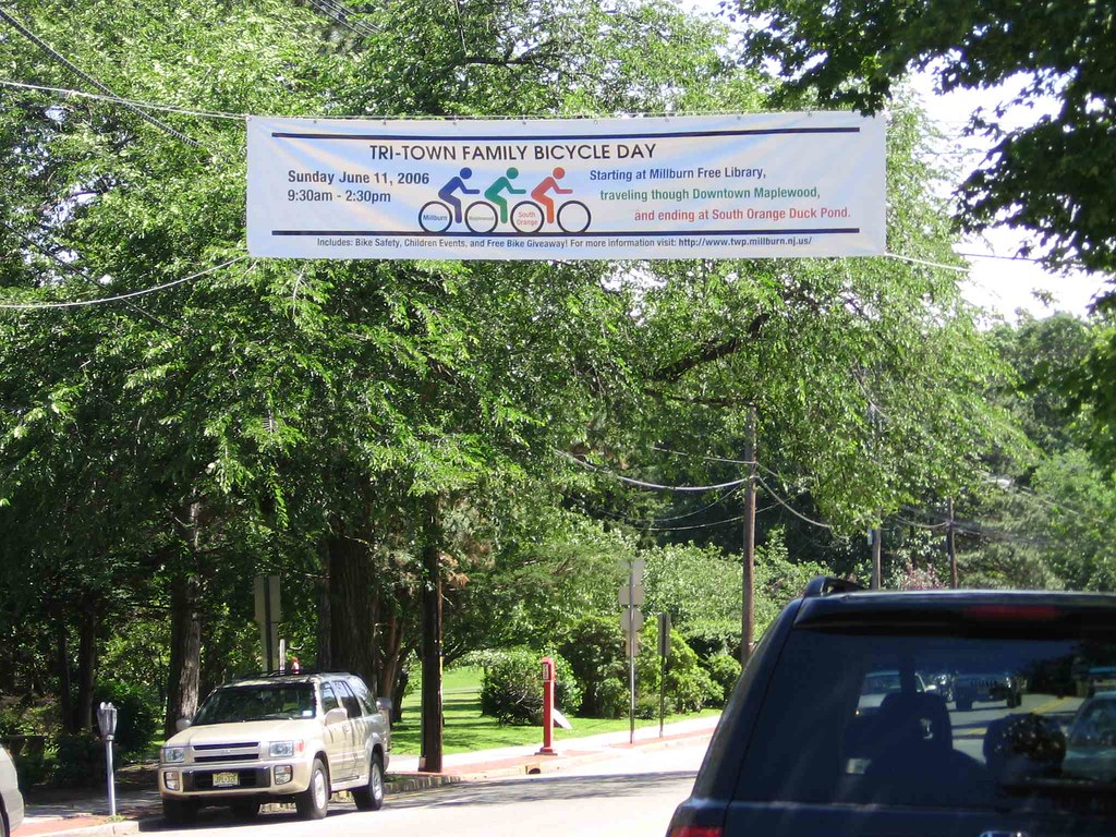 Banner across Main Street