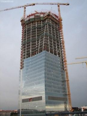 Torre Espacio construccion