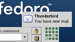 Thunderbolt : New Mail Notification