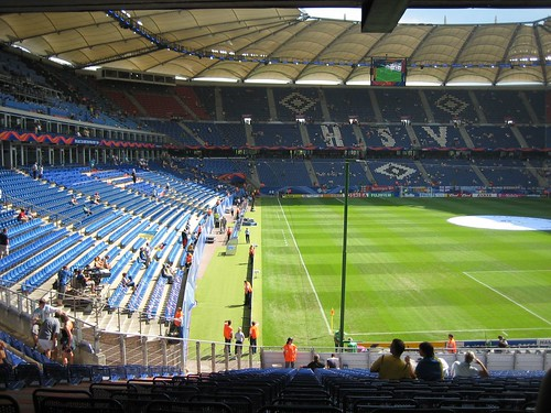 Togo gegen Schweiz im Stadion