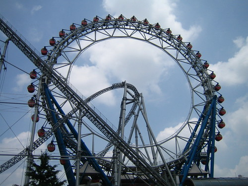 Roller Coaster at La qua