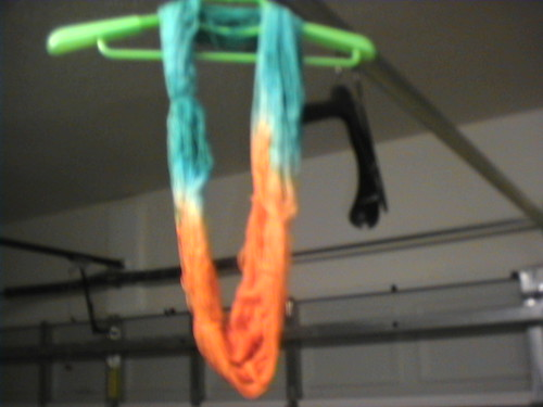 Yarn drying2