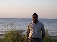 Fabian Maganda on Shore of Lake Victoria in Nassa, TZ