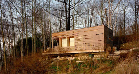 Sunset Cabin, Taylor Smyth, Sustainable Sites, Green Building 101, Greenbuilding 101, LEED, USGBC, Green Architecture, Sustainable architecture, Landscape design