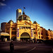 Flinders St Station by Holga