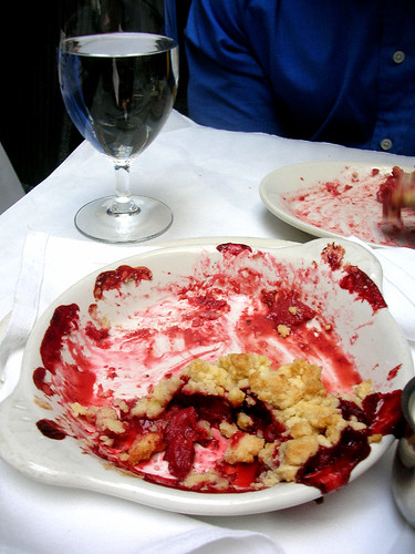 campanile strawberry crumbled