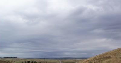 Lots of grey sky