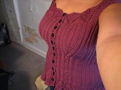 ribbed corset FO