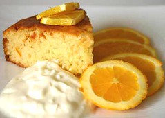 Orange Yoghurt Cake