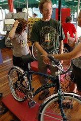 ArtBike unveiling at Weir's Cyclery